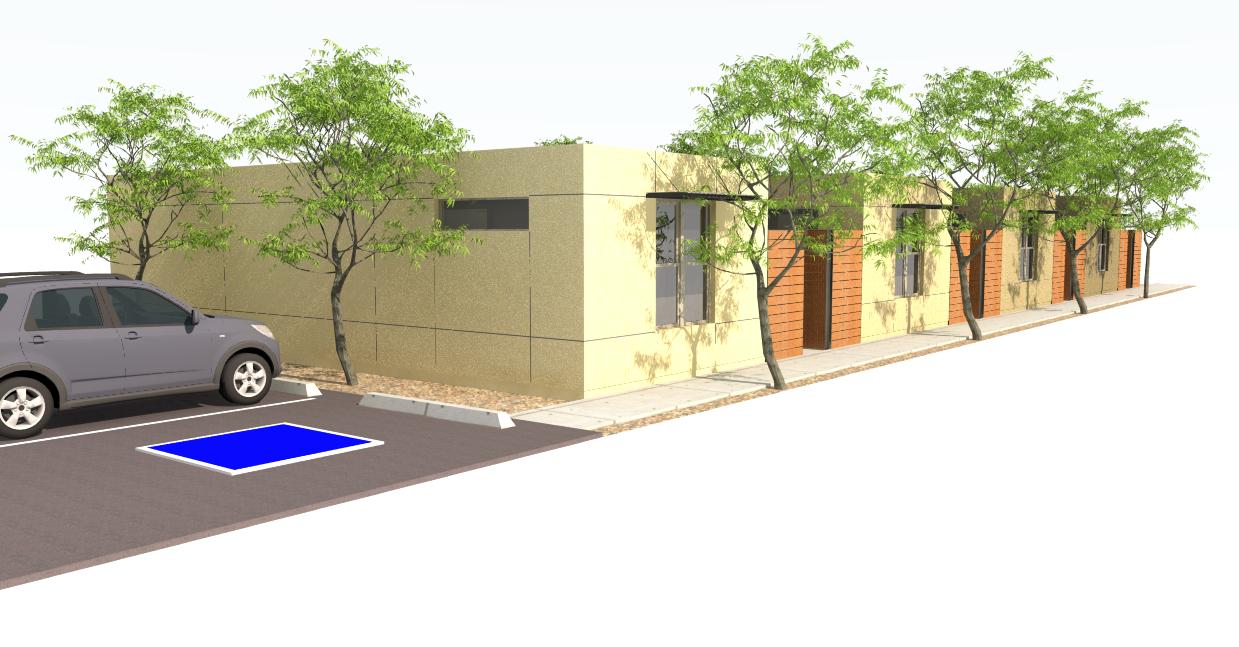4 plex individual homes snaphome for Prefab 4 plex